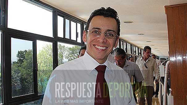 GIOVANNI DE LUNA NOYOLA, EN LA PRESENTACIÓN DEL III ABIERTO JUVENIL MEXICANO