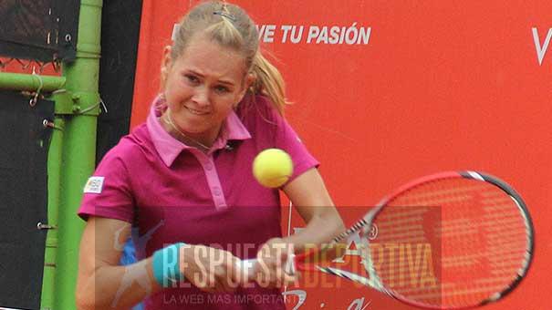 Marie Bouzkova, brillante en la Copa Yucatán
