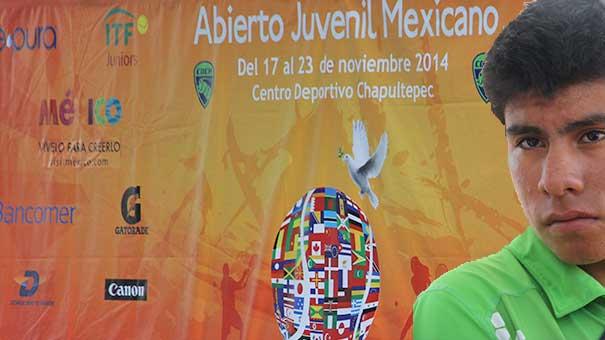 RODRIGO GARCÍA AL ABIERTO JUVENIL MEXICANO