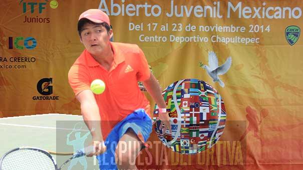 MAURICIO GUERRERO, SE GANÓ EL PASE AL MAIN DRAW DEL III ABIERTO JUVENIL MEXICANO