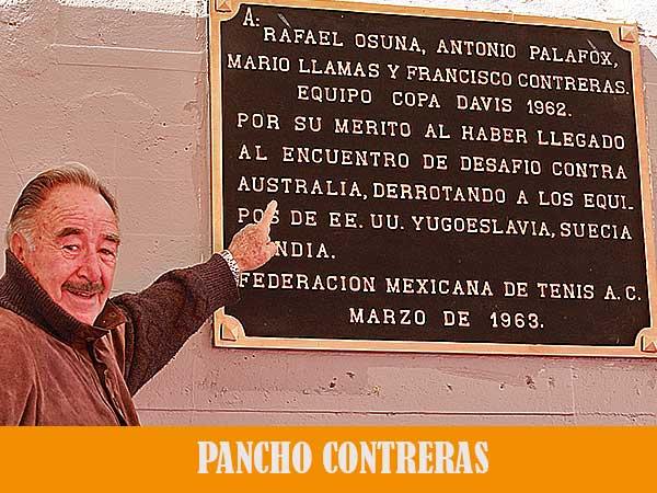 SI NO AGUANTAS LA PRESIÓN NO FUNCIONARÁS EN COPA DAVIS: PANCHO CONTRERAS