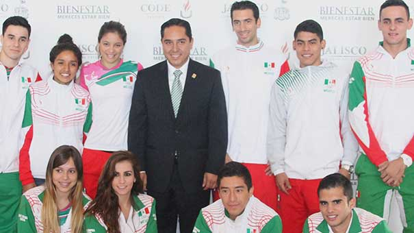 André Marx Miranda Campos, orgulloso de los jaliscienses