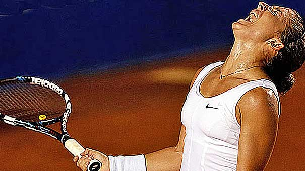 Finalista en Roland Garros y número uno del mundo en dobles, Sara Errani juega el Torneo de Rio de Janeiro