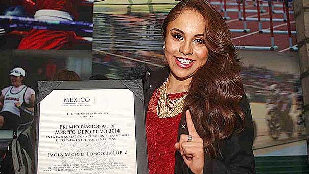 Entrega Emilio Chuayffet Premio Nacional de Deportes 2014