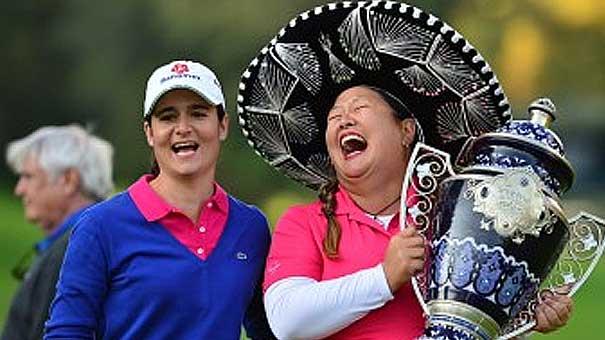 RECUERDOS DE GOLF: Christina Kim, logró ganar su primer título de LPGA en nueve años.