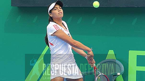 VICTORIA RODRÍGUEZ EN LA GRAN FINAL DEL ITF DE YUCATÁN