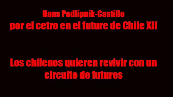Hans Podlipnik-Castillo, quiere ser profeta en su tierra