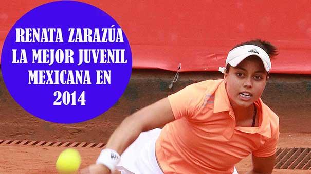 RENATA ZARAZÚA, LA MEJOR JUVENIL MEXICANA EN 2014