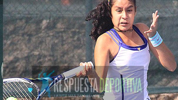 CIRCUITO FMT-CABO DRAW 18 AÑOS: KATYA RAMÍREZ COMBATE EN EL CLUB ALEMÁN