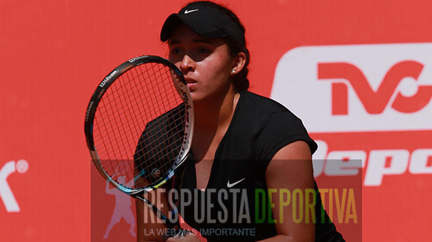 JESSICA HINOJOSA ELIMINADA EN EL ROLAND GARROS
