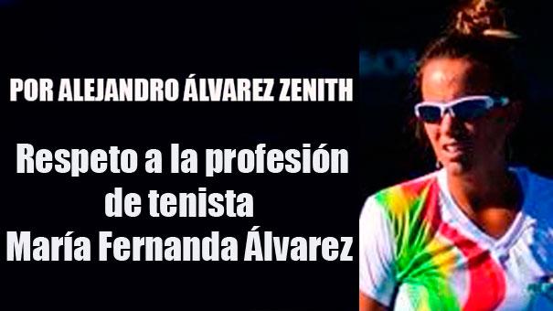 EL HONOR DE REPRESENTAR A BOLIVIA: MARÍA FERNANDA ÁLVAREZ
