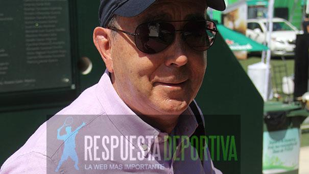 EL PADRE DE ALEJANDRA RIVERO, SIGUE GOZANDO DEL TENIS