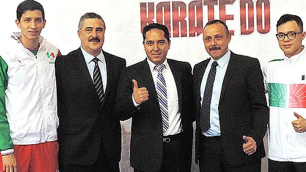 Presentan el Nacional de Karate en Guadalajara.