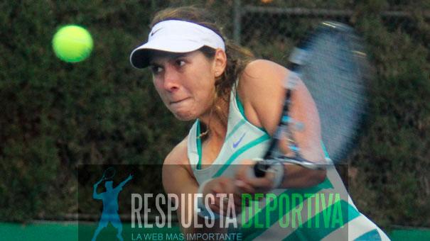LA ESTADOUNIDENSE DE ORIGEN MEXICANO MARÍA SÁNCHEZ EN LA FINAL DEL WTA DE MONTERREY