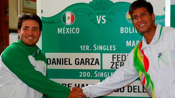 DANIEL GARZA GANÓ EL PRIMER PUNTO A BOLIVIA