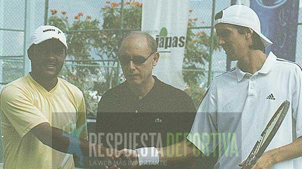 CHIAPAS RECIBIÓ A GRANDES ESTRELLAS PREVIO A LA CONSTRUCCIÓN DEL CENTRO NACIONAL DE TENIS