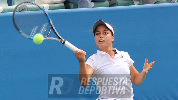 VICKY GARIBAY:  Cuatro mexicanas a la semifinal del Jalisco Open.