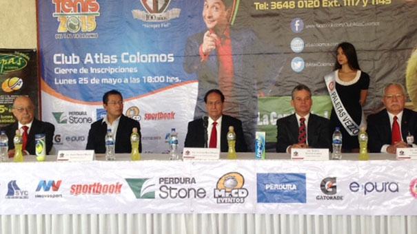 JALISCO: Atlas Colomos invita a su torneo anual de Tenis.