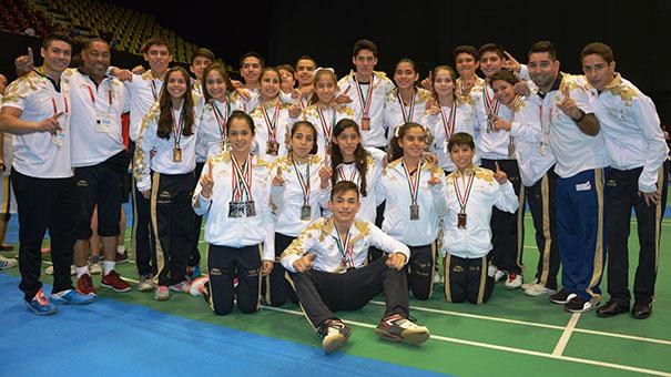 VICKY GARIBAY: espués de reanudarse la competencia de Bádminton, finaliza con cinco oros para Jalisco.