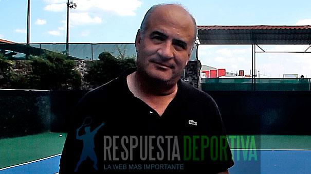 CHARLAS DE ALEJANDRO ALVAREZ CON ARTURO DE LA PEÑA, PRESIDENTE DEL RAQUETA BRITANIA