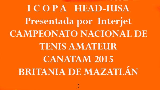 CONVOCATORIA CIRCUITO HEAD MAZATLÁN