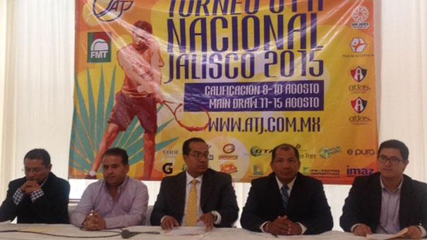 Anuncian el Nacional de Tenis infantil-juvenil G1-A en la Perla Tapatía.