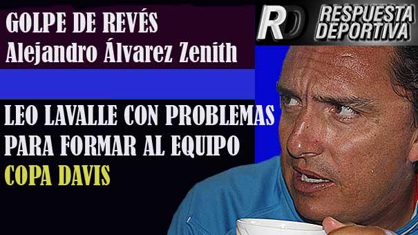 SANTIAGO GONZÁLEZ Y MIKE REYES VARELA, PODRÍAN CAUSAR BAJA EN EL EQUIPO COPA DAVIS