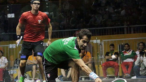 Suman Samantha Terán y César Salazar par de bronces en squash