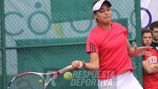 CAYO VICTORIA RODRÍGUEZ EN LA FINAL DEL ITF DE ORLANDO