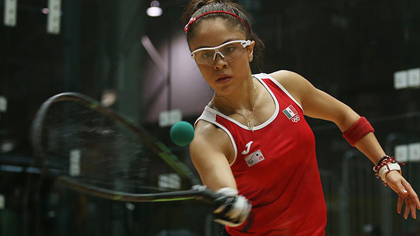 Extiende Paola Longoria dominio en Juegos Panamericanos