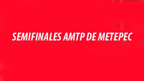 Listas las semifinales del torneo AMTP en el Club San Carlos de Metepec