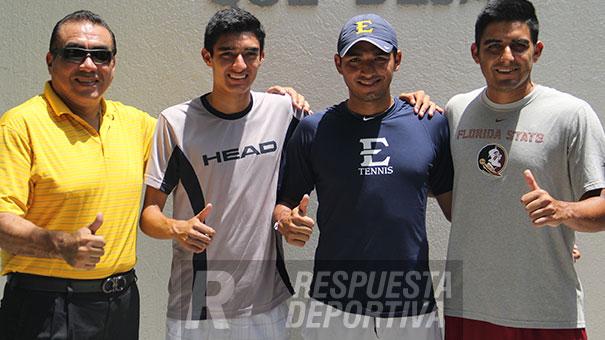 TRES GENERACIONES DE TENISTAS REUNIDAS EN LA FAMILIA NÚÑEZ