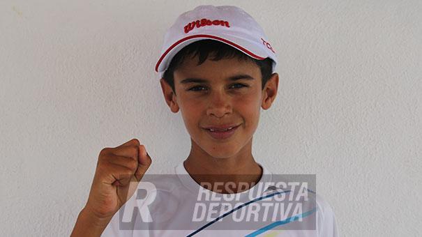 RODRIGO PACHECO A CUARTOS DE FINAL DEL NACIONAL DE 12 AÑOS