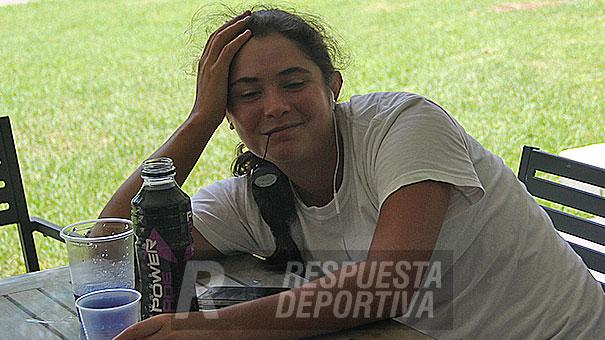PAULINA ROTAECHE UNA DE LAS CUATRO MEXICANAS QUE SE PRESENTARON EN LA PREVIA DEL ITF DE SAN LUIS POTOSÍ DOTADO CON 15 MIL DÓLARES