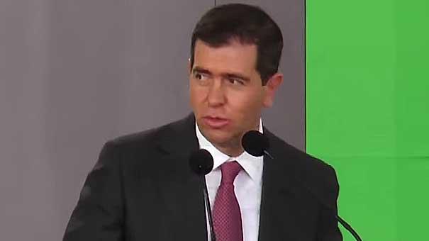 ALFREDO CASTILLO: DISCURSO ANTE EL PRESIDENTE Y DEPORTISTAS