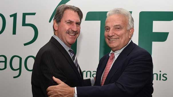 David Haggerty, nuevo presidente de la Federación Internacional de Tenis
