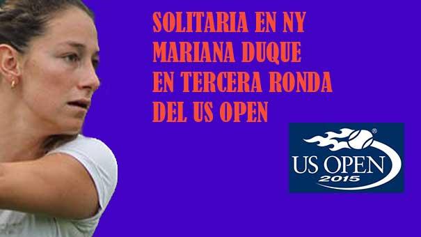 MARIANA DUQUE MARINO POR EL PASE A LOS OCTAVOS DE FINAL CONTRA UNA ITALIANA