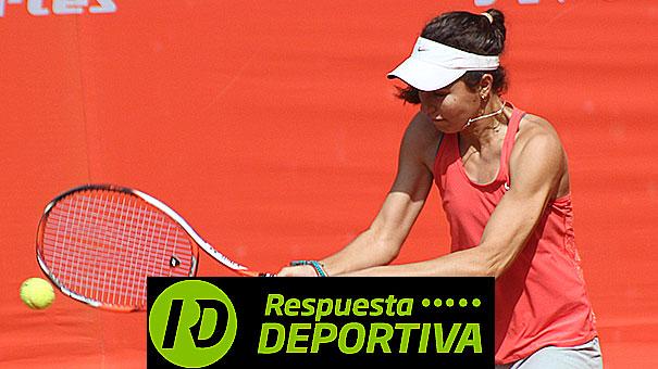 DANIELA MORALES EN EL ITF DE ECUADOR, SOLO ELLA ESTÁ DIRECTA