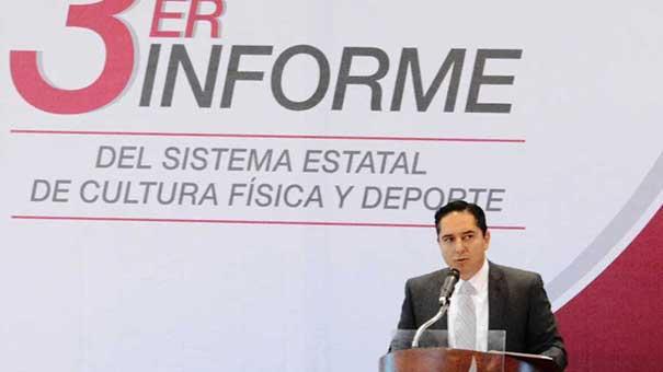 Andre Marx Miranda Campos presenta su Tercer Informe.