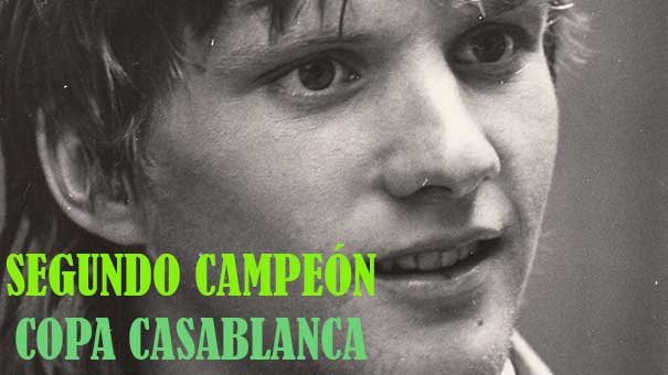 CAMPEONES COPA INTERNACIONAL CASABLANCA, JUSTA FUNDADA POR JAIME MULLER DE LA LAMA