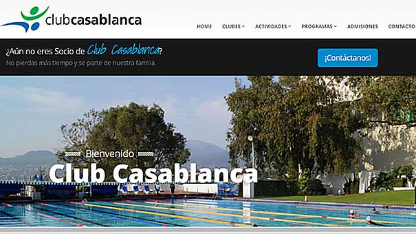 CHECA MODERNO PORTAL DE CLUBES CASABLANCA
