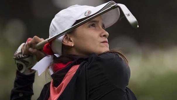 Karla Vazquez Seltzer, una chica con futuro en el Golf