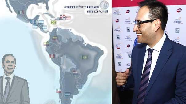 MARCOS LINARES, FIGURA DE TELCEL EN LA PRESENTACIÓN DE JUGADORES DEL ABIERTO MEXICANO