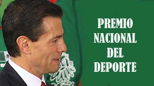 Enrique Peña Nieto entrega Premio Nacional de Deportes y Mérito Deportivo 2015