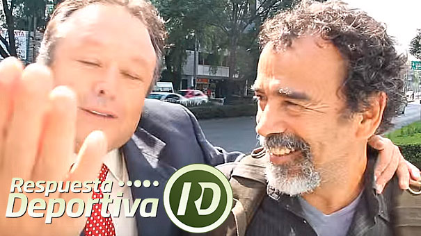 EL ACTOR DAMIÁN ALCÁZAR CHARLA CON ALEJANDRO ÁLVAREZ ZENITH