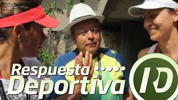 Anabel Medina Garrigues y ArantxaParra Santonja, hablaron del dobles con Alejandro Álvarez Zenith