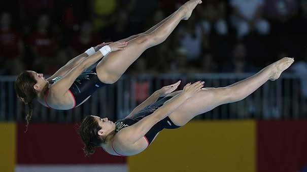 Alejandra Orozco y Paola Espinosa obtienen plaza olímpica.