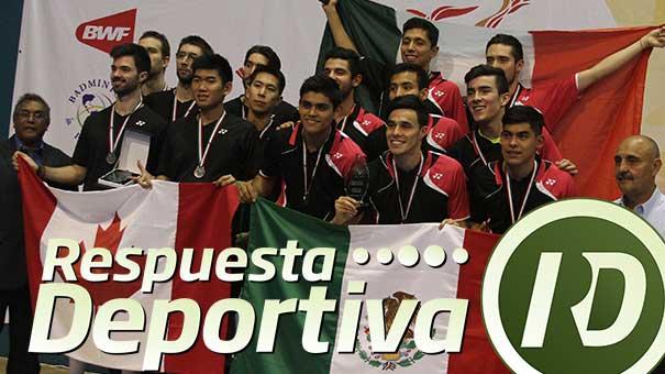 Mexicanos ganan oro y boleto a mundial.