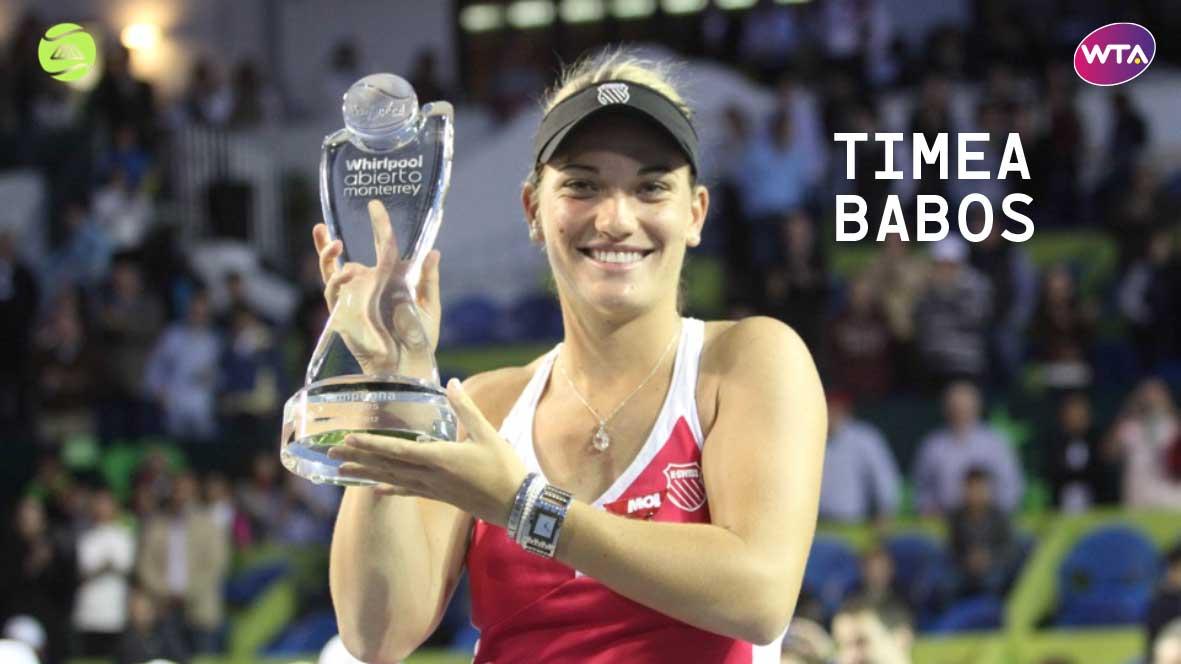 TIMEA BABOS, YA CONFIRMÓ EN EL WTA DE MONTERREY