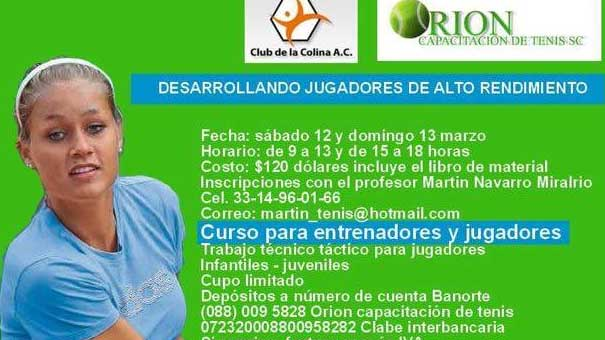 CURSO DE EDGAR GIFFENING, GRAN ENTRENADOR MEXICANO DE CLASE MUNDIAL